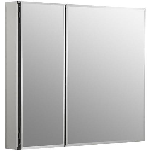 Beau KOHLER K CB CLC3026FS Frameless Double Door 30 Inch X 26 Inch Aluminum  Bathroom