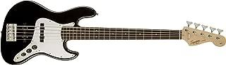 Squier by Fender Affinity Series Jazz Bass V String - Laurel Fingerboard - Black Finish