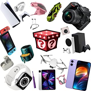 Mystery Box Gaming, Surprise Box Electronic, Random Lucky Box, Du Kan Få Telefon, Drone, Smart Watch, Digital Camera Etc
