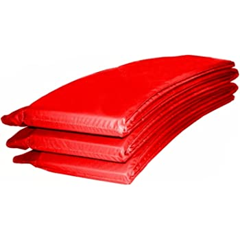 Trampolin Randabdeckung Umrandung Randschutz Federabdeckung 396cm rot