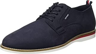 Tommy Hilfiger Casual Spring Shoe, Chaussures décontractées en Nubuck à Ressort Homme