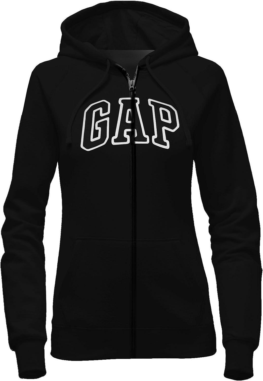 GAP Women's Full Zip Fleece Logo San Diego Mall Hoodie Popular shop is the lowest price challenge