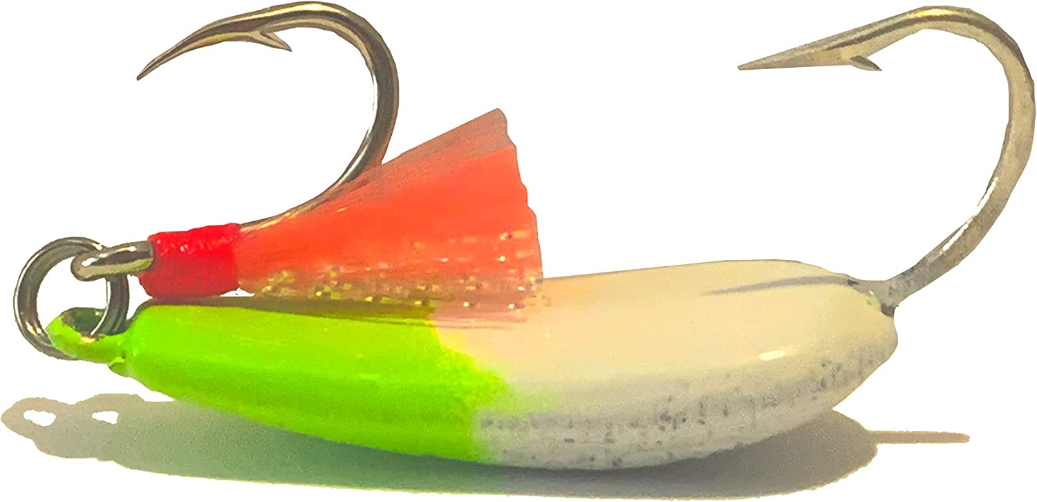 Hunting and Fishing Depot Candy Pompano Jigs Max 74% OFF Chartreuse with Time sale Tea