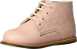Josmo Baby Unisex Walking Shoes First Walker, Pink Ostrich, 6 Medium US Infant
