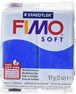 STAEDTLER Fimo Soft Polymer Clay 2 Ounces-8020-37 Pacific Blue