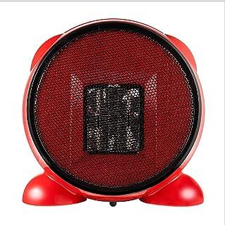 SADDPA Calefactor Cerámico PTC, 500W Mini Ventilador de Calentacdor Eléctrico, Protección contra Vuelcos, Ideal para Bebé, Personal o Familia, Vestirse Desvestirse