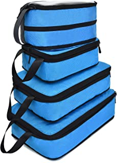 Compression Packing Cubes for Travel Expandable Packing Organizers 4pcs Set