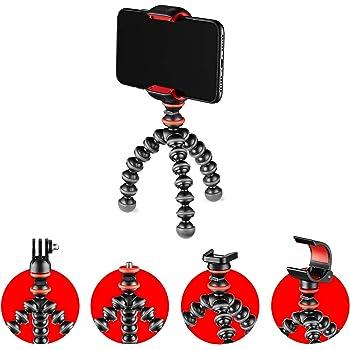 JOBY スマホスタンド ミニ三脚 ゴリラポッド スターターキット カメラ/GoPro/LEDライト取り付け可 小型 ブラック JB01571-BWW
