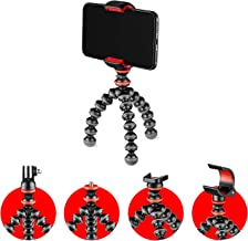 Joby JB01571-BWW GorillaPod Starter Kit, Flexible Mini Tripod with Universal Smartphone Clamp, GoPro and Torch Mount Up to...