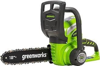 Greenworks cordless chainsaw G40CS30 (Li-Ion 40 V, chain speed 4.2 m/s, 30 cm guide bar length, 120 ml oil tank capacity, ...