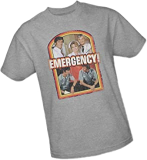 Cast Distressed Print - Emergency Adult T-Shirt