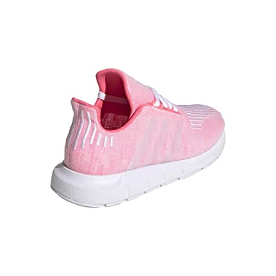 adidas Originals Kids Swift Run C (Little Kid) (Shock Red/White) Girls Shoes
