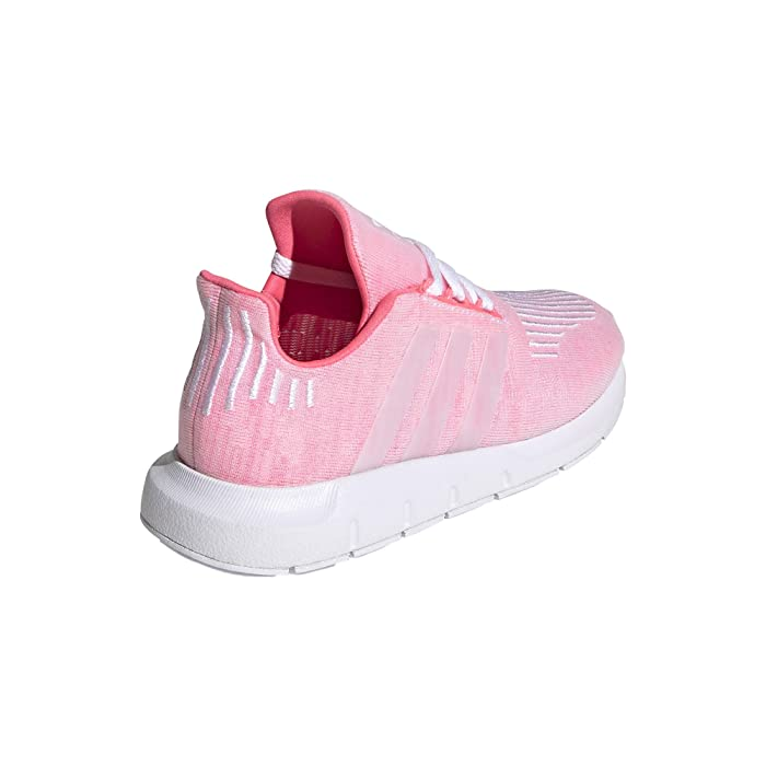 adidas Originals Kids  Swift Run C (Little Kid) (Shock Red/White) Girls Shoes