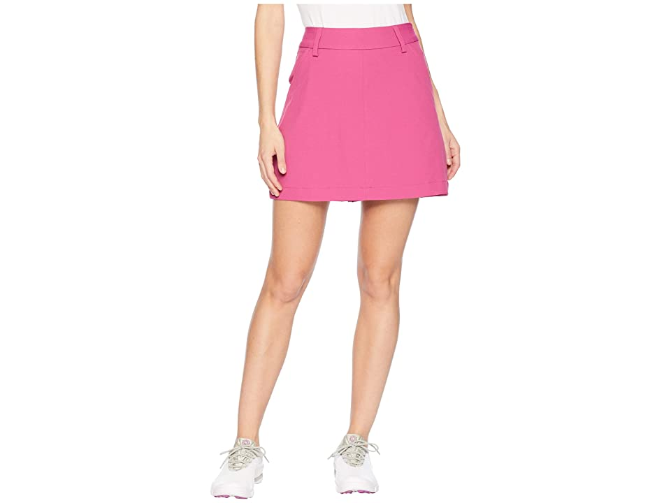PUMA Golf Pounce Skirt (Magenta Haze) Women