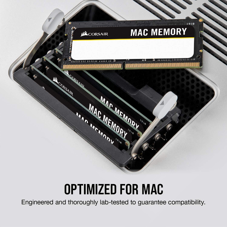 Corsair CMSA8GX3M2A1333C9 Apple Certified 8GB (2x4GB) DDR3 1333 MHz (PC3 10666) Laptop Memory 1.5V