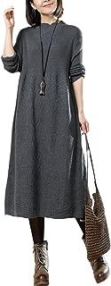 knitted long jumper dress