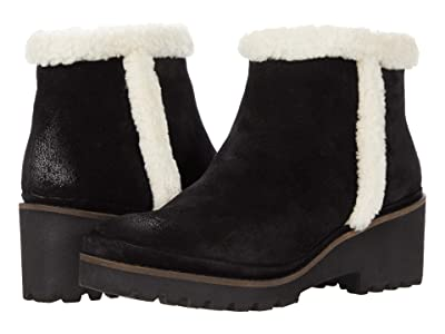 Gentle Souls by Kenneth Cole Mona Bootie Cozy (Black Suede) Women