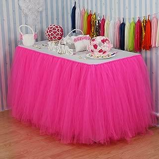 pink polka dot tableware