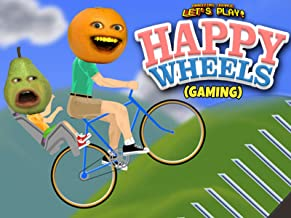 Clip: Annoying Orange Let's Play - Happy Wheels (Gaming)