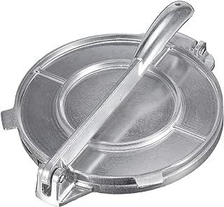 EElabper Professional Foldable Tortilla Maker Press Heavy Aluminium Meat Press Gadgets Bakeware Tools Kitchen Accessories DIY Decorating Tool