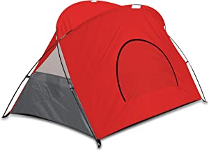 ONIVA - a Picnic Time Brand Cove Portable Sun/Wind Shelter, Red