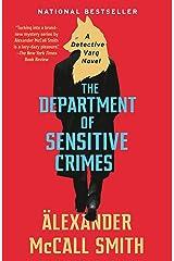 The Department of Sensitive Crimes: A Detective Varg Novel (1) (Detective Varg Series) Kindle Edition