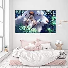 "3D Princess Mononoke 978 Japan Anime Wall Stickers Vinyl Wall Murals Print Art | Self-Adhesive Large Wall Stickers, AJ WALLPAPER US Wendy (Vinyl(NoGlue&Removable), 【70.8""x39.3""】180x100cm(WxH))"