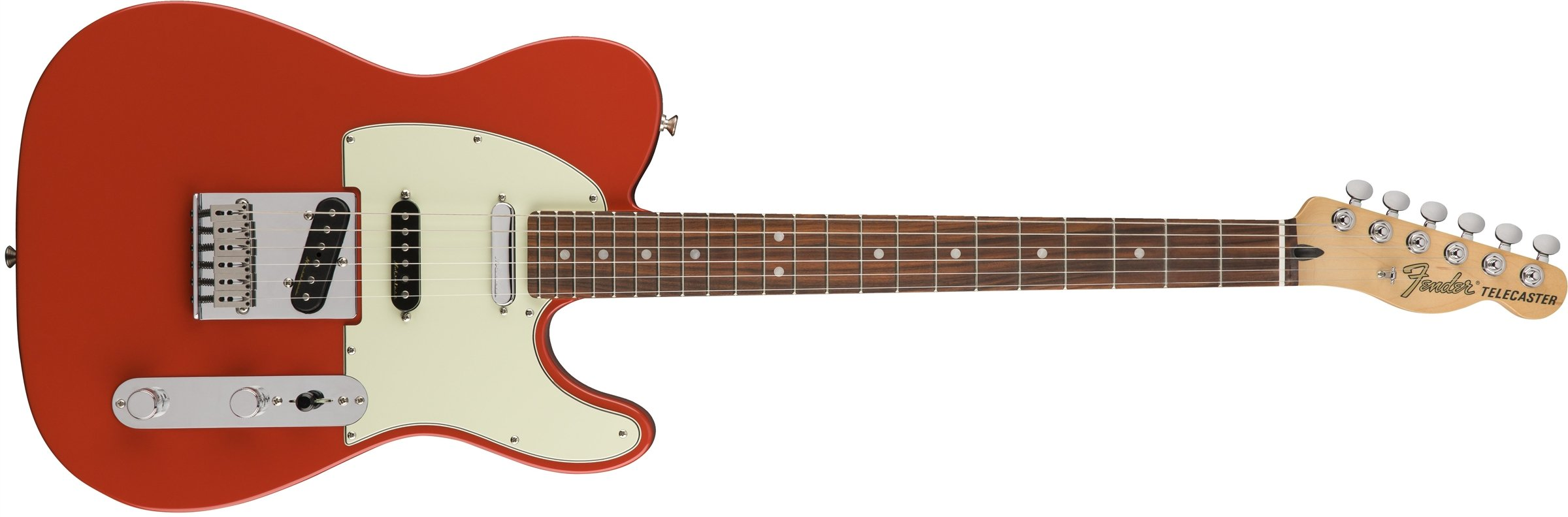 Cheap Fender Deluxe Nashville Telecaster Electric Guitar - Pau Ferro Fingerboard - Fiesta Red Black Friday & Cyber Monday 2019