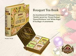 Basilur Tea Book Foil Enveloped Tea Bags Magic Fruit Assorted, 2 Gram