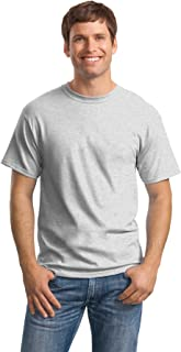 Hanes Men's Comfortsoft 6 Pack Crew Neck Tee - Ash - 2XL