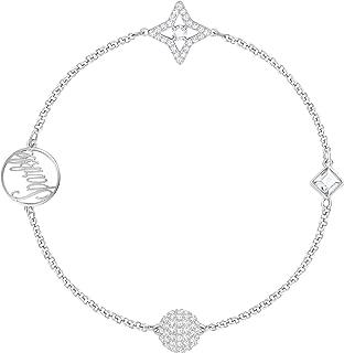 Swarovski Remix Collection star, White Rhodium Plating, 5365752