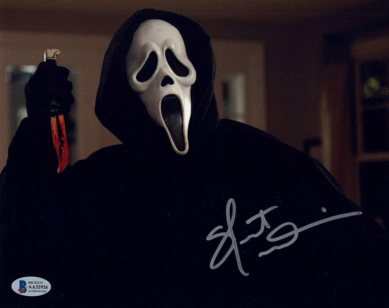 Skeet Ulrich Signed Nippon regular agency Autographed 8x10 Sacramento Mall Ghostface Beck Photo Scream