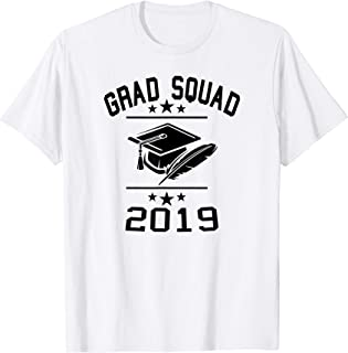 Best graduation squad shirts Reviews