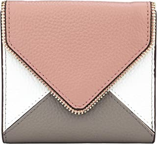 RFID Blocking Small Compact Mini Bifold Credit Card Holder Leather Pocket Wallets for Women