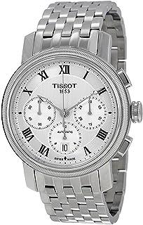Tissot - Reloj de hombre automático 42mm correa de acero caja de T0974271103300