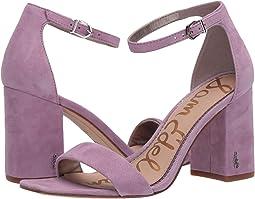 Purple Jam Suede Leather