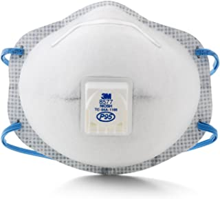 3M Particulate Respirator 8577, P95, with Nuisance Level Organic Vapor Relief