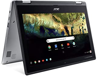 "Acer Chromebook Spin 11 CP311-1H-C5PN Convertible Laptop, Celeron N3350, 11.6"" HD Touch, 4GB DDR4, 32GB eMMC, Google Chrome"