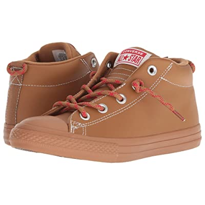 Converse Kids Chuck Taylor All Star Street Hiker Mid (Little Kid/Big Kid) (Burnt Caramel/Burnt Caramel) Boy