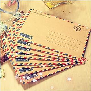8 PCS/Lot Large Postcard Letter Stationery Paper Envelope Vintage Wallet Envelope For Student School Office gift