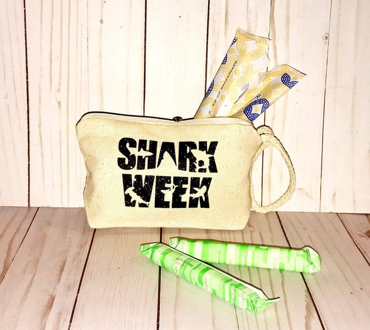 Shark week bag shark sha Albuquerque Mall maxi Branded goods tampon