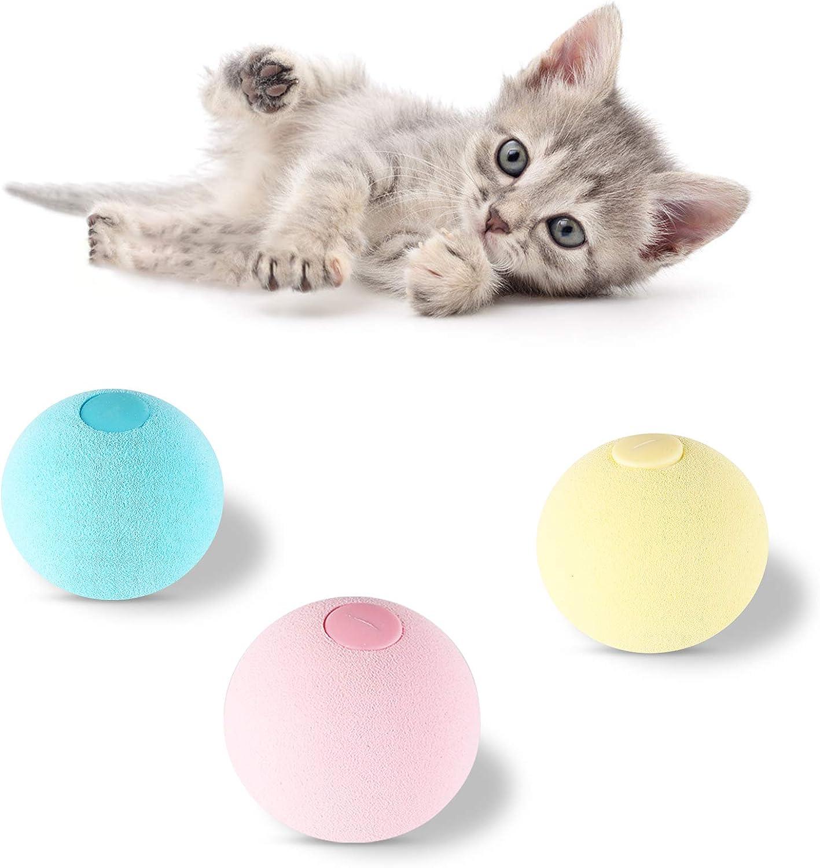 Hosdog Cat Translated Toy Max 81% OFF Ball Refillable Animal Toys Catnip Chir Lifelike