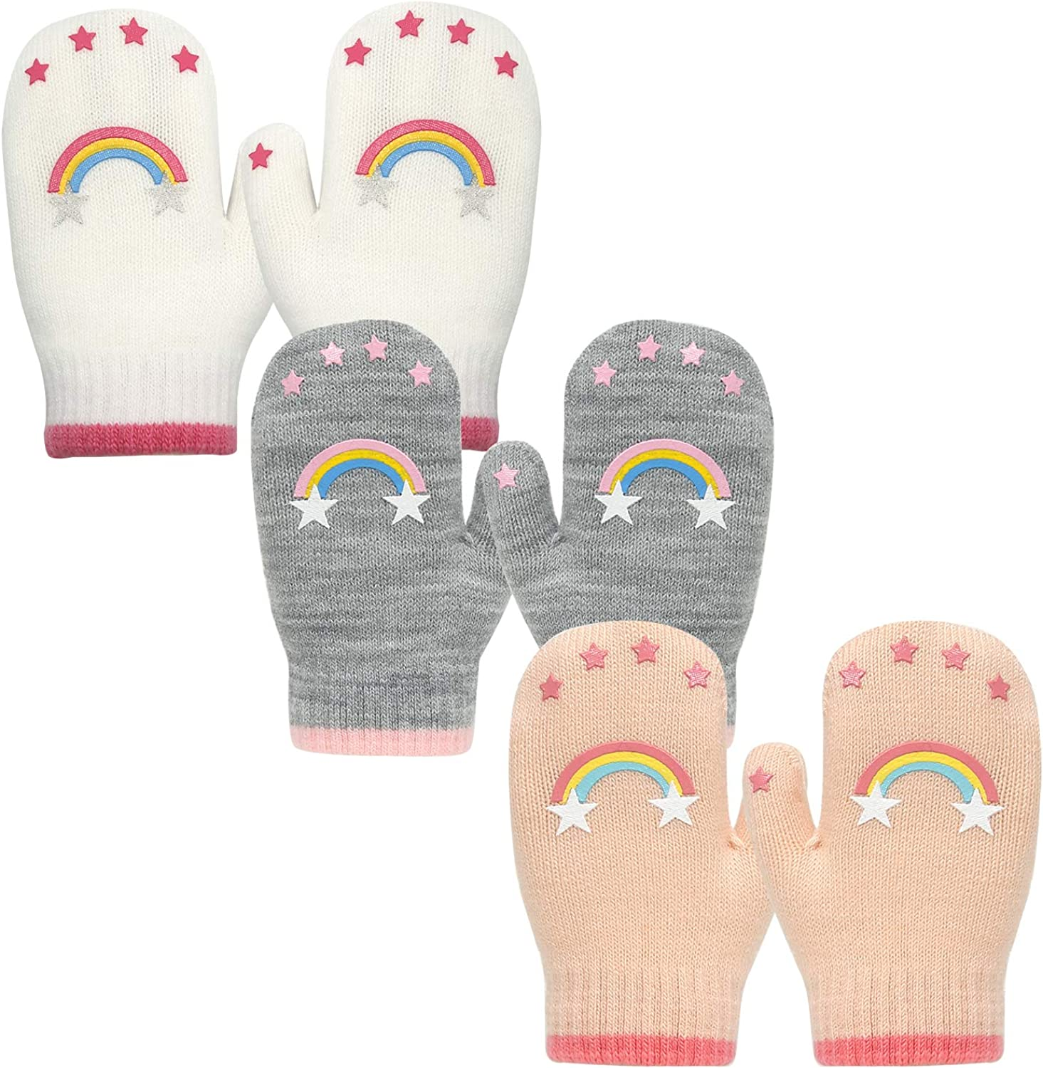 EvridWear Choice Infant Thermal Warm Stretch Mittens Knitted Toddlers Mail order cheap