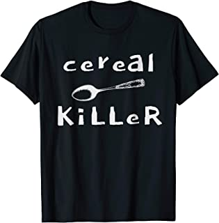Lazy Halloween Costume Tshirt Cereal Killer T Shirt