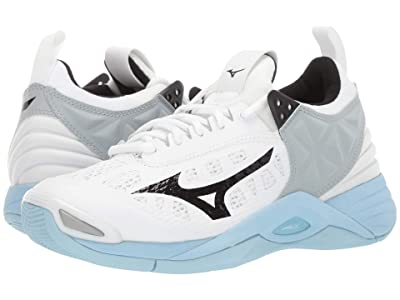 Mizuno Wave Momentum (White/Blue) Women