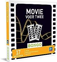 Bongo Bon - Movie voor Twee | Cadeaubonnen Cadeaukaart cadeau voor man of vrouw | 17 bioscopen