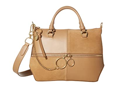 See by Chloe Emy Shoulder Bag (Coconut Brown) Handbags