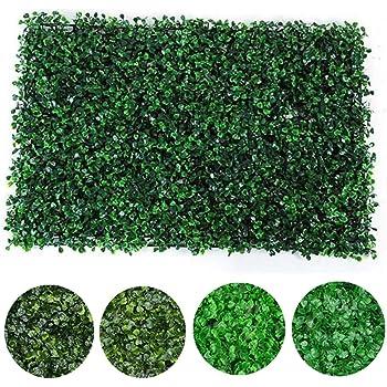 Terrarum - Valla de jardín Artificial (40 x 60 cm, 4 Unidades): Amazon.es: Jardín