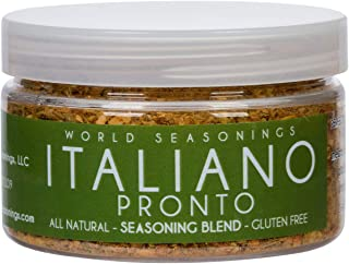 Dried Italian Seasoning Blend – Italian Cooking is Easy w/ our Gluten Free Italian Spice Mix – MSG Free, All Natural Tuscan Seasoning with Garlic, Pepper, Fennel & Herbs for Bread, Salads & Pasta