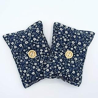"""Mini cuscino""""Dormi Bene Fiori - blu"""" (confezione con 2 unità) pieno di semi di lavanda bio - mettilo sotto al tuo cuscino ..."""